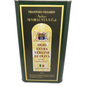 """1 Latta """"Coratina"""" lt. 3 Olio Extravergine 100% Italiano"""