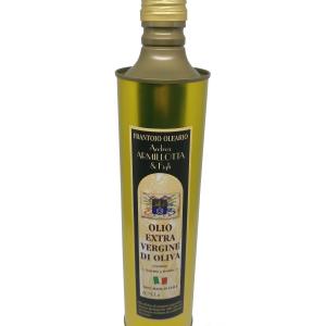 """6 Latte """"Coratina"""" 0.75 lt Olio Extravergine 100% Italiano"""